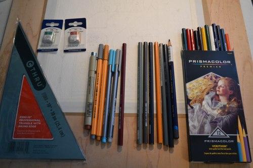new art supplies