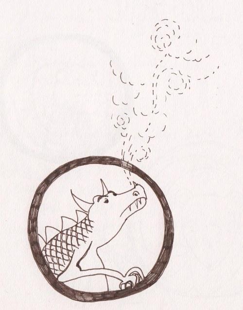 sketchbook dragon character