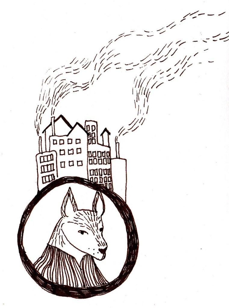sketchbook fox character