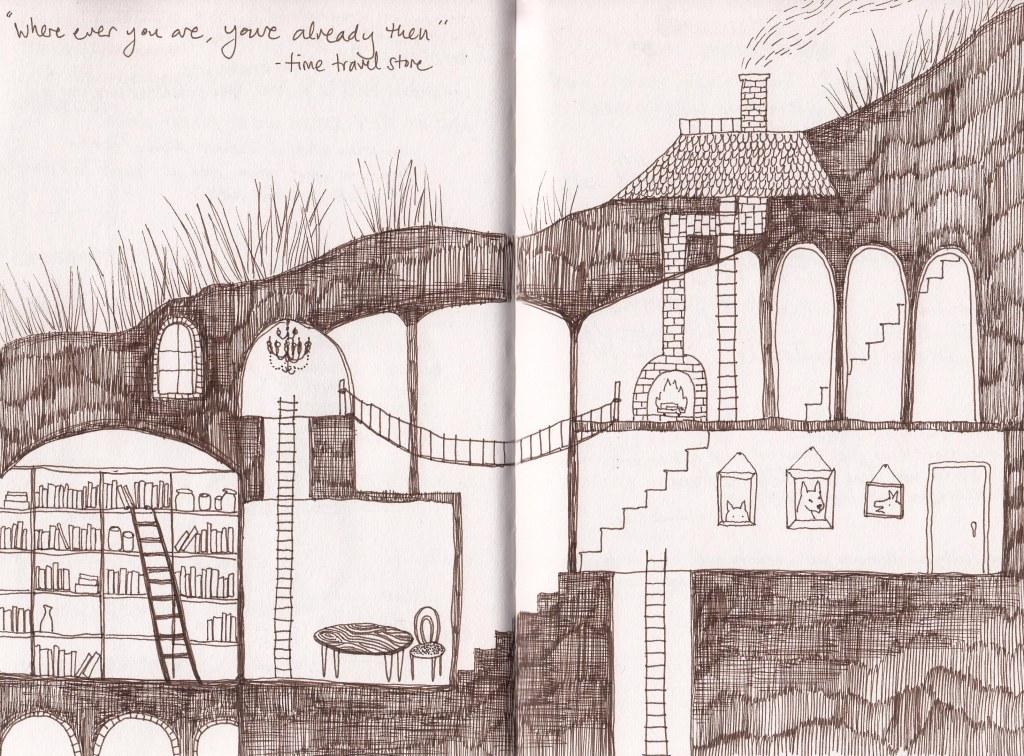 sketchbook underground world