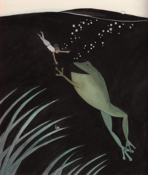 MP underwater frog