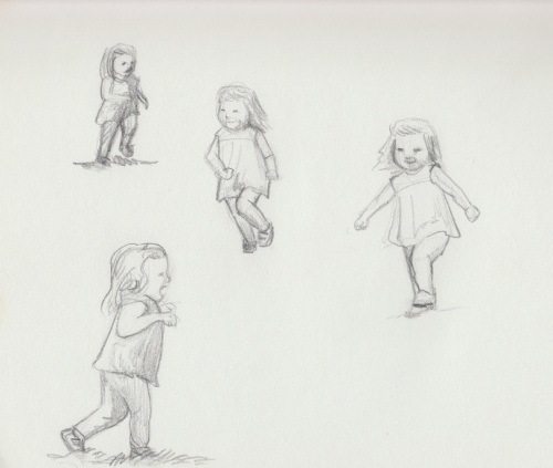 Lucy sketches